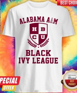 Alabama A And M HBCU Black Ivy League Halloween Shirt