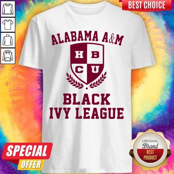 Alabama A And M HBCU Black Ivy League Halloween Shirt