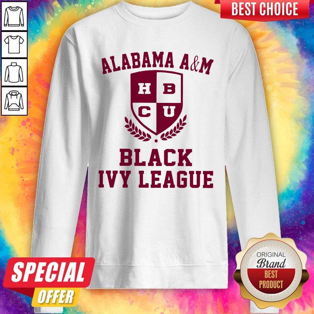 Alabama A And M HBCU Black Ivy League Halloween Sweatshirt