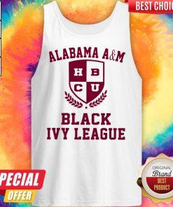 Alabama A And M HBCU Black Ivy League Halloween Tank Top