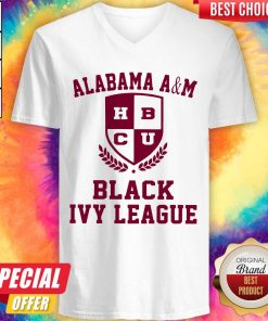 Alabama A And M HBCU Black Ivy League Halloween V-neck