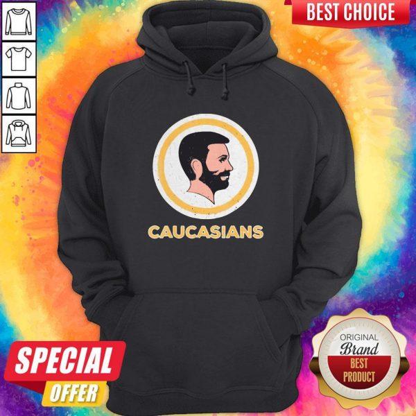 Awesome Caucasians Pride Vintage Hoodie