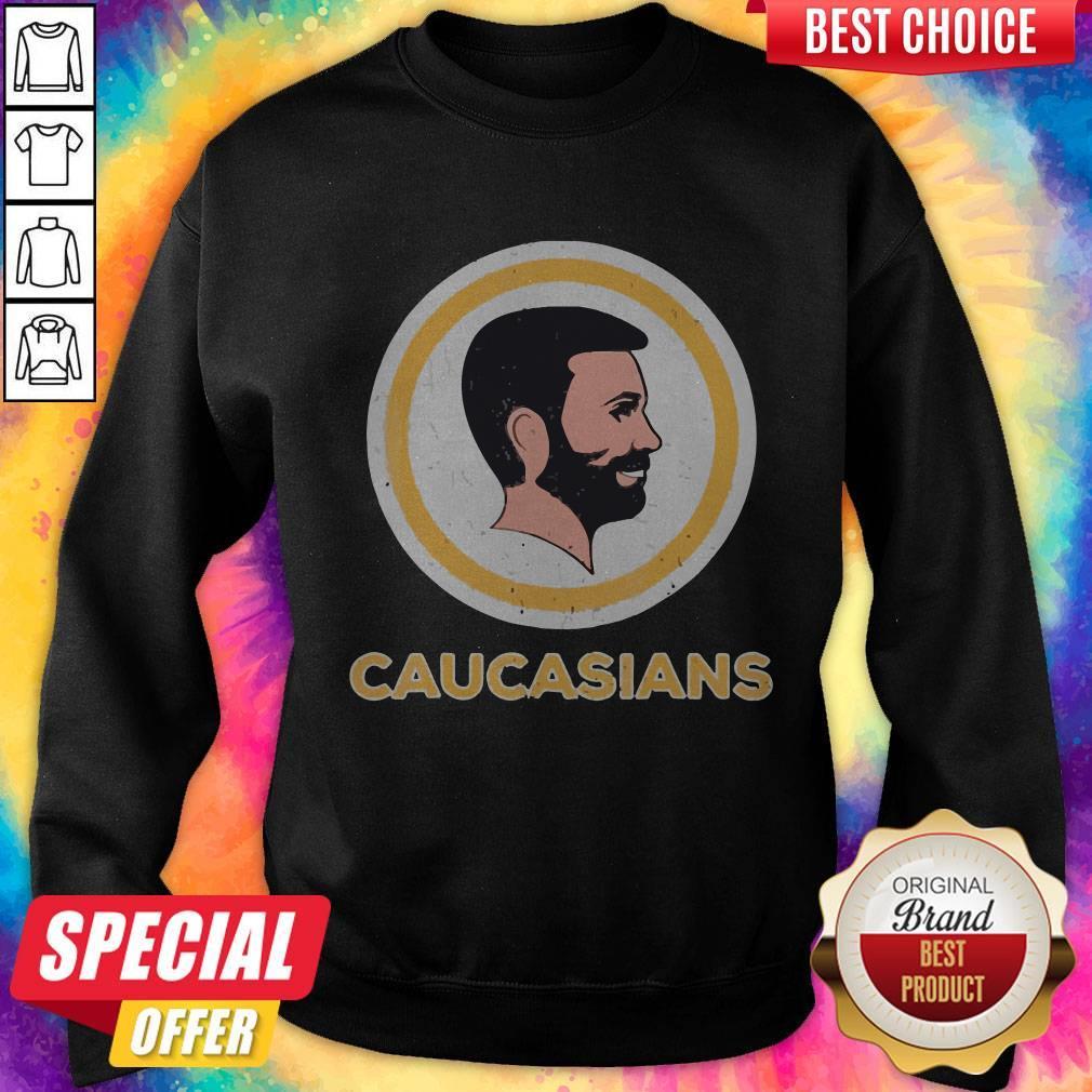 Awesome Caucasians Pride Vintage Sweatshirt