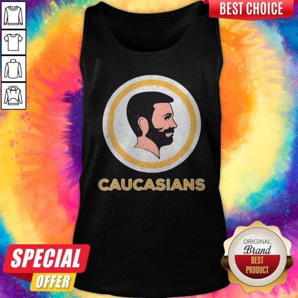Awesome Caucasians Pride Vintage Tank Top