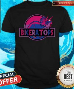 Funny LGBT Biceratops Shirt