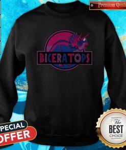 Funny LGBT Biceratops Sweatshirt
