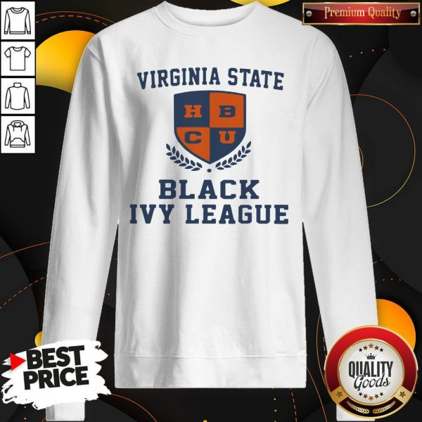 Original Virginia State Black Ivy League sweatshirt
