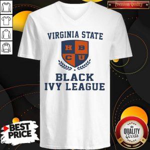 Original Virginia State Black Ivy League V-neck