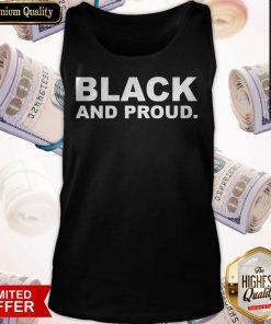 Premium Black And Proud Tank Top