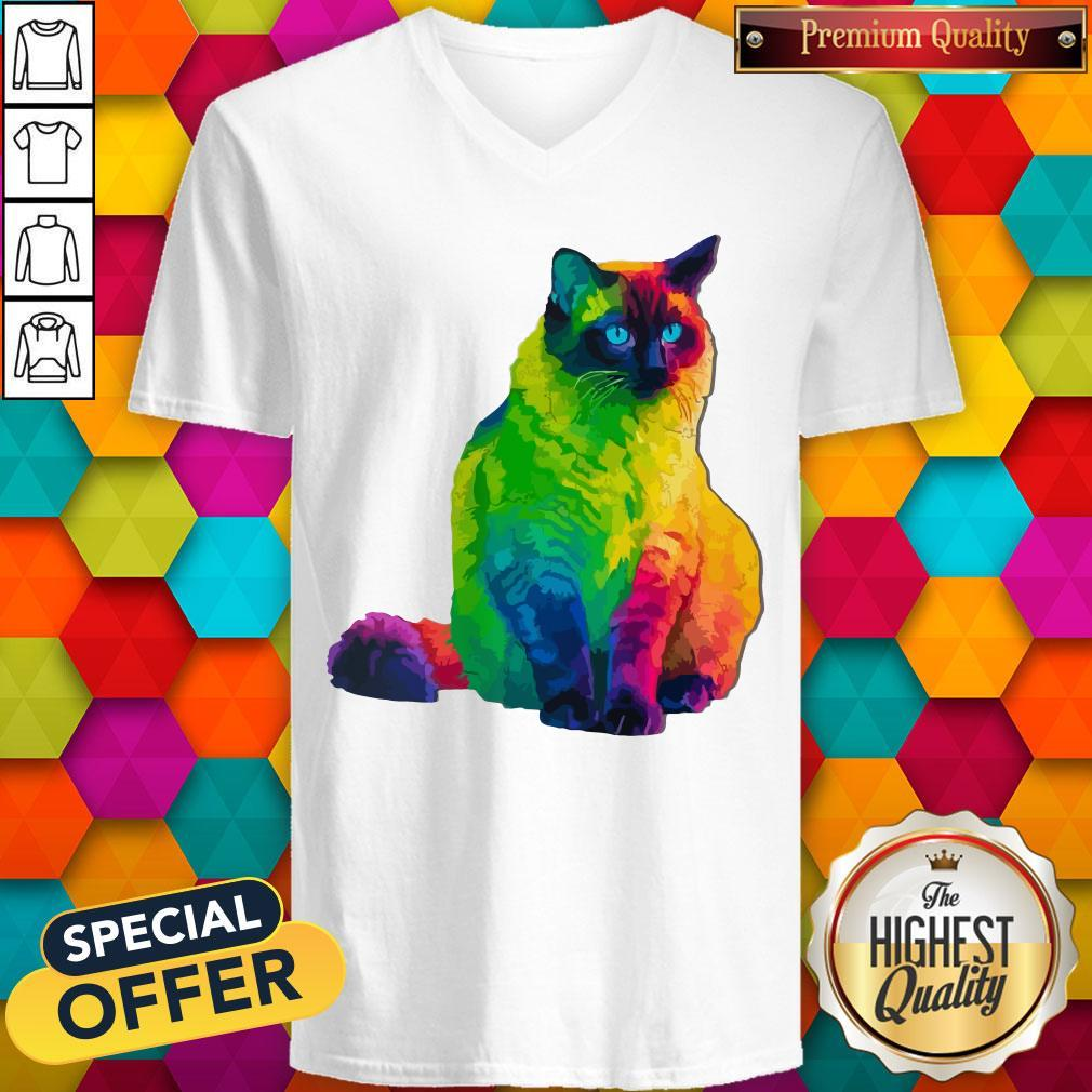 Special The Herding Cats Jigsaw Puzzle V-neck