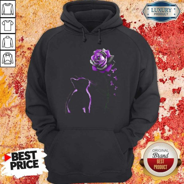 Top Cat Paws For A Cure Hoodie