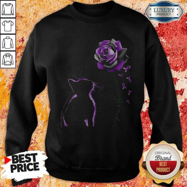 Top Cat Paws For A Cure Sweatshirt