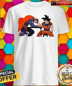 Top Superman Arm-wrestling Songoku Shirt