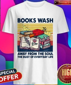 Books Wask Away From The Soul The Dust Of Everyday Life Vintage Shirt