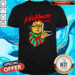 Freddy Krueger A Nightmare On Clown Street ShirtFreddy Krueger A Nightmare On Clown Street Shirt