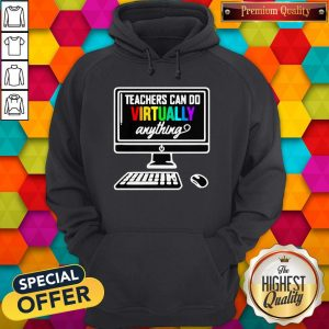 Personal Computer Teachers Can Do Virtually Anything LGBT Hoodie