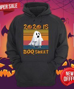 2020 Is Boo Sheet Halloween Vintage Hoodie