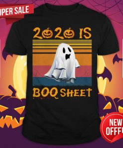 2020 Is Boo Sheet Halloween Vintage Shirt