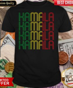 African American Black Lives Matter For Kamala Fun Gift Shirt