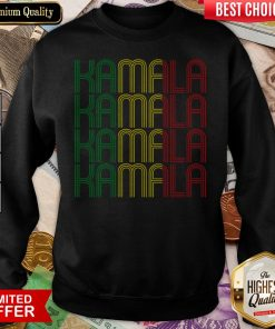 African American Black Lives Matter For Kamala Fun Gift Sweatshirt