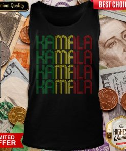 African American Black Lives Matter For Kamala Fun Gift Tank Top