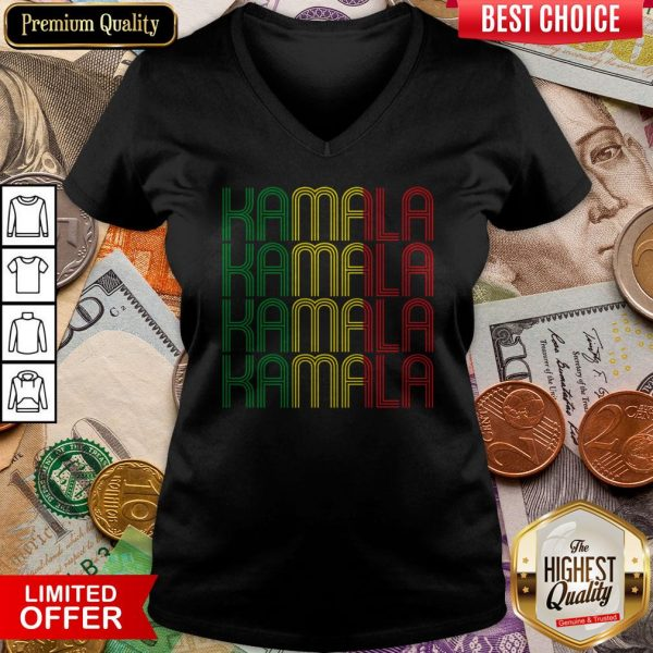 African American Black Lives Matter For Kamala Fun Gift V-neck