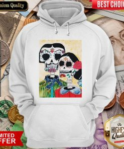Amor Skeleton Couple Day Of The Dead Muertos Hoodie