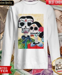 Amor Skeleton Couple Day Of The Dead Muertos Sweatshirt
