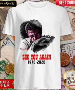 Black Panther Chadwick Boseman See You Again 1976 2020 Shirt