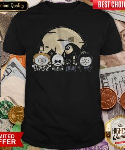 Burton Park Tim Burton Movie Mashup Halloween Shirt