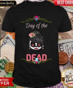 Cute Sugar Skull Day Of The Dead Shirt