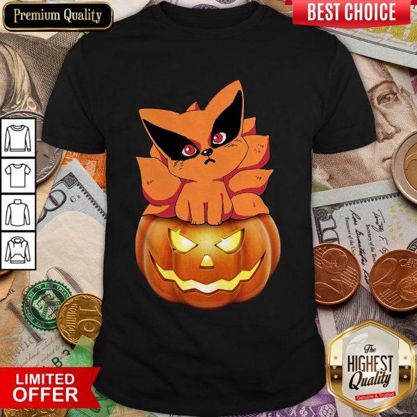 Fox N Pumpkin Halloween Shirt