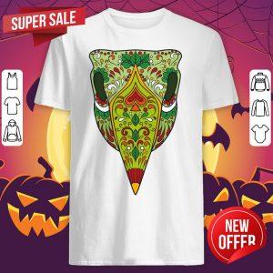 Sugar Skull Bird Dia De Los Muertos Day Of The Dead Shirt