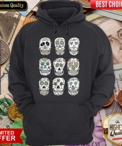 Sugar Skulls Dia De Muertos Day Of The Dead Hoodie