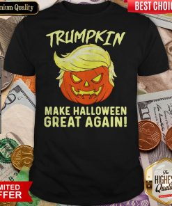 Trumpkin Make Halloween Great Again Shirt