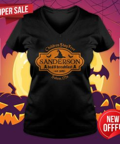 Witch Children Stay Free Sanderson Bed And Breakfast East 1693 Salem V-neck