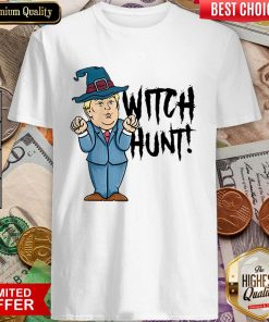 Witch Hunt Trump Witch Halloween Shirt