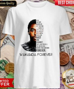 You Can Run Forever Wakanda Forever Shirt