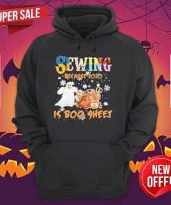 Autism Sewing Because 2020 Is Boo Sheet Merry Christmas Hoodie