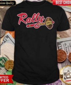 Awesome Rally Potato Atlanta Baseball Shirt - Design By Viewtees.com