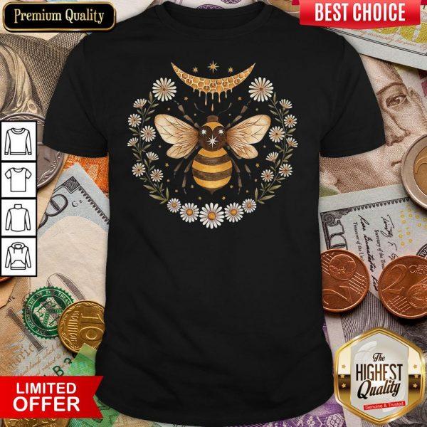 Funny Bee Honey Moon Shirt