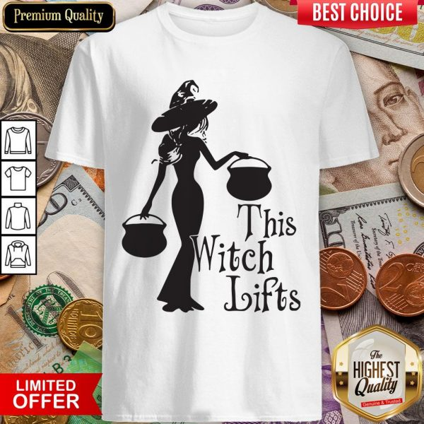 Halloween This Witch Lifts ShirtHalloween This Witch Lifts Shirt