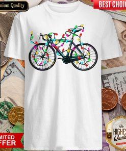 Happy Ride Merry Christmas Shirt - Design By Viewtees.com