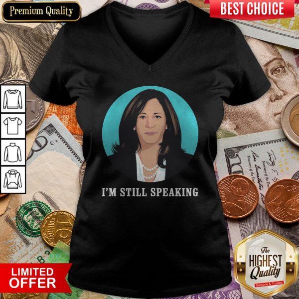 Kamala Harris I'm Still Speaking V-neck