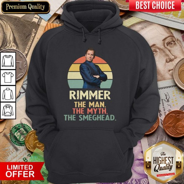 Rimmer The Man The Myth The Smeghead Vintage Hoodie