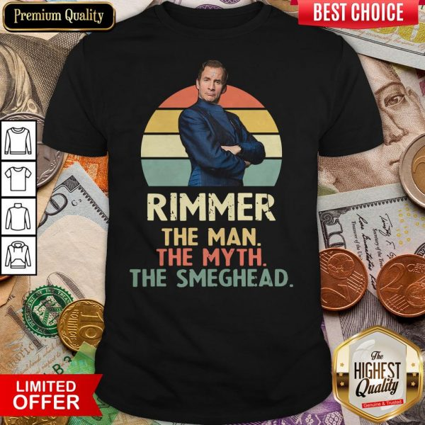 Rimmer The Man The Myth The Smeghead Vintage Shirt