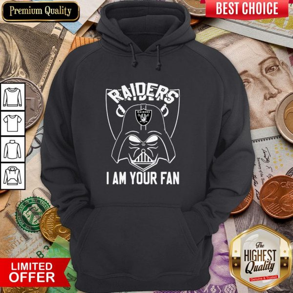 Star Wars Darth Vader Oklahoma Raiders I Am Your Fan Hoodie