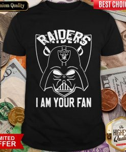 Star Wars Darth Vader Oklahoma Raiders I Am Your Fan Shirt