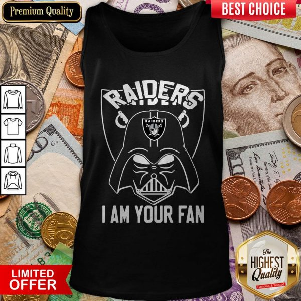 Star Wars Darth Vader Oklahoma Raiders I Am Your Fan Tank top