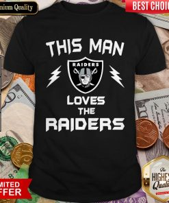 This Man Loves The Oklahoma Raiders Shirt